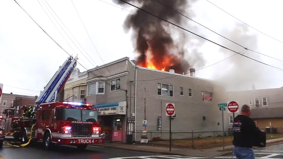 Extensive Video From 3 Alarm Fire In Garfield Nj Statter911