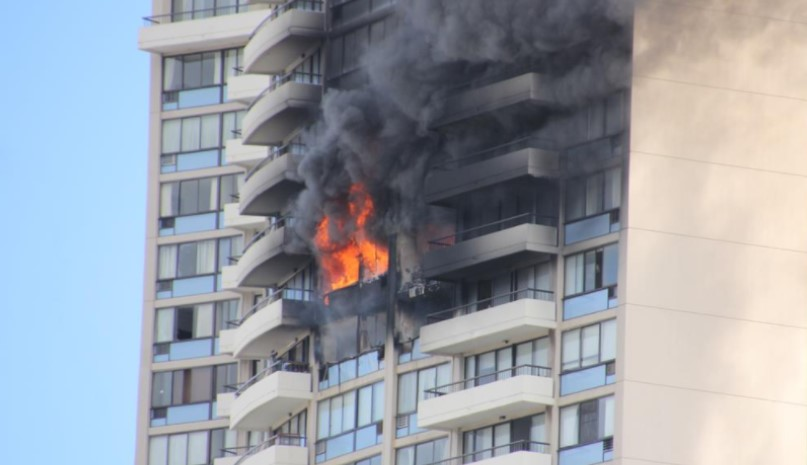 Raw video: Deadly Honolulu high-rise fire - Statter911