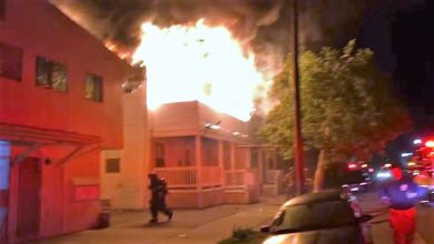 Photo of Early video & radio traffic from Stockton, CA third-alarm with rescue
