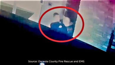Photo of Caught on camera: Florida firefighters fired after fighting on EMS run