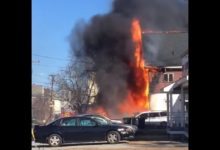 Photo of Pre-arrival video from 3-alarm New Hampshire apartment fire
