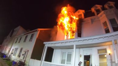 Photo of Early video & radio traffic from Harrisburg, PA house fire