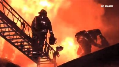 Photo of Video: House fire in Los Angeles